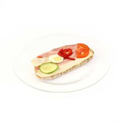 Chléb slaninový