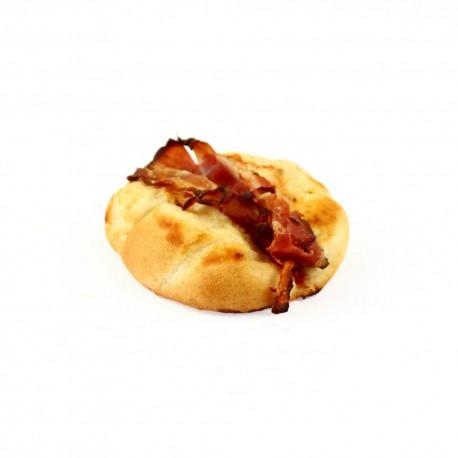 Pizza houska se slaninou
